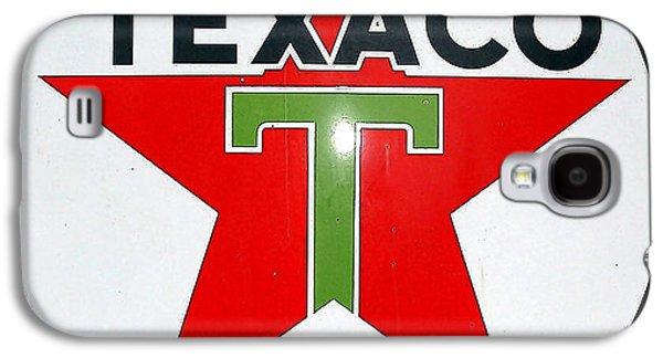 Vintage Texaco Sign Galaxy S4 Case by Marvin Blaine