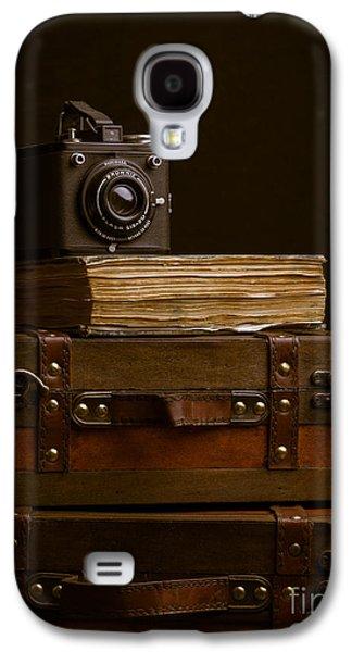 Vintage Travel Galaxy S4 Case by Edward Fielding