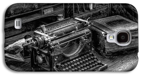 Vintage Typewriter Galaxy S4 Case
