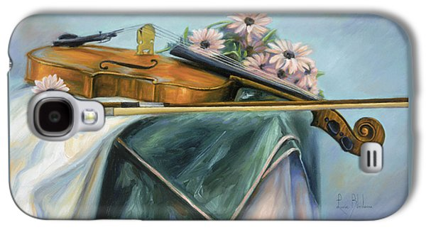 Violin Galaxy S4 Case - Violin by Lucie Bilodeau