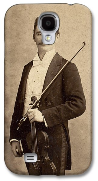 Violin Galaxy S4 Case - Violinist, C1900 by Granger