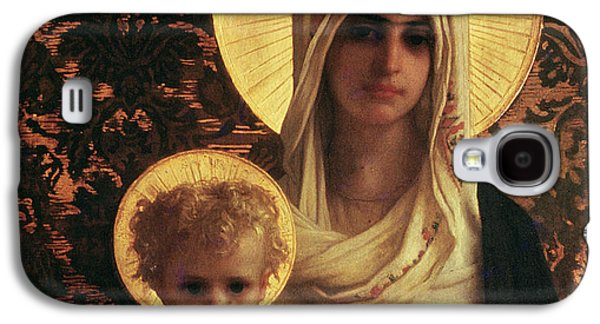 Virgin And Child Galaxy S4 Case by Antoine Auguste Ernest Herbert