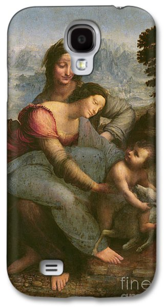 Virgin And Child With Saint Anne Galaxy S4 Case