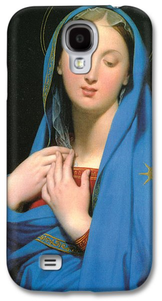 Virgin Of The Adoption Galaxy S4 Case by Jean Auguste Dominique Ingress