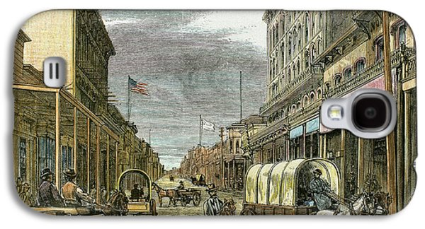 Virginia City In 1870 Galaxy S4 Case