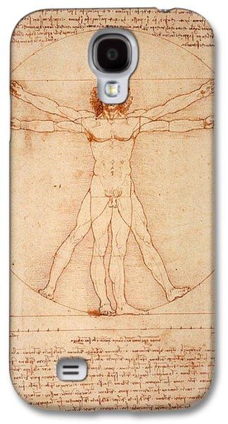 Vitruvian Man Galaxy S4 Case