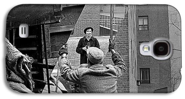 Vivian Maier Self Portrait Probably Taken In Chicago Illinois 1955 Galaxy S4 Case