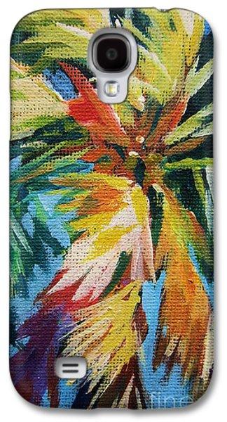 Vivid Palm Galaxy S4 Case by John Clark