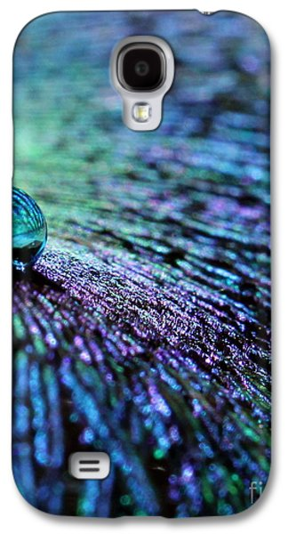 Vivid Peacock Galaxy S4 Case by Krissy Katsimbras