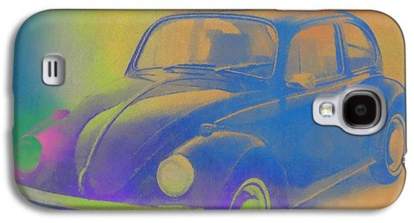 Volkswagen Beetle Pop Art Galaxy S4 Case