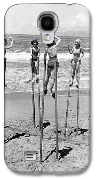 Volleyball On Stilts Galaxy S4 Case