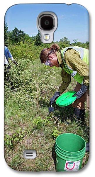 Volunteers Removing Buckthorn Galaxy S4 Case