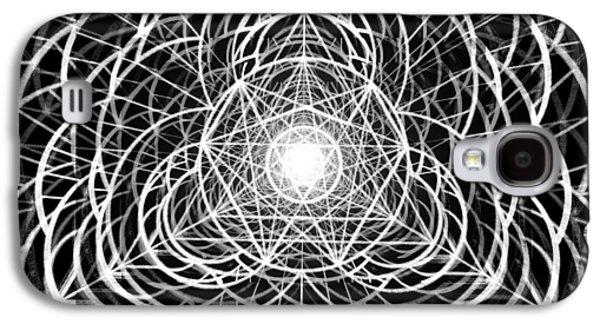 Vortex Equilibrium Galaxy S4 Case by Derek Gedney