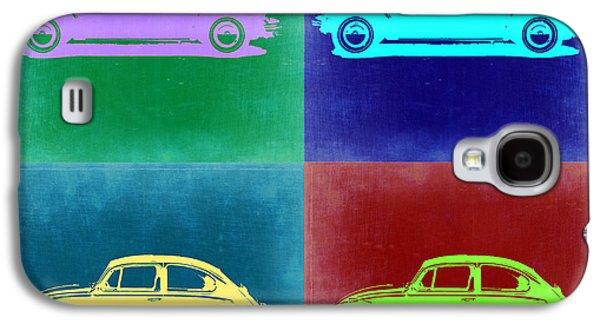 Vw Beetle Pop Art 3 Galaxy S4 Case by Naxart Studio