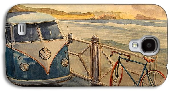 Vw Westfalia Surfer Galaxy S4 Case by Juan  Bosco