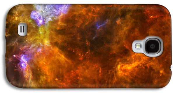 W3 Nebula Galaxy S4 Case