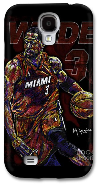 Wade Galaxy S4 Case by Maria Arango