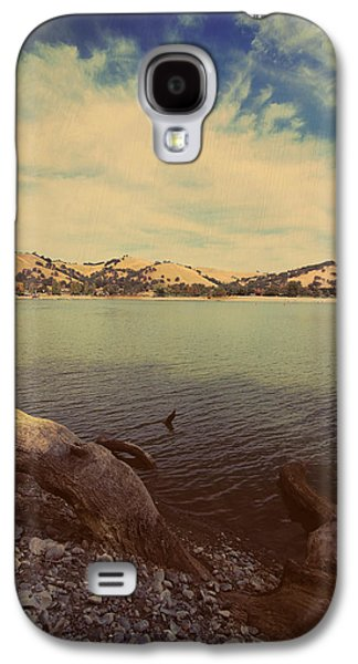 Wading Into The Cold Water Galaxy S4 Case by Laurie Search