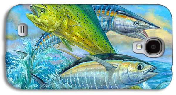 Wahoo Mahi Mahi And Tuna Galaxy S4 Case
