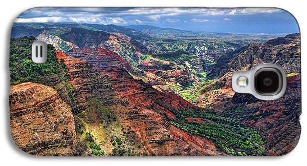 Waimea Canyon 2 Galaxy S4 Case by Baywest Imaging
