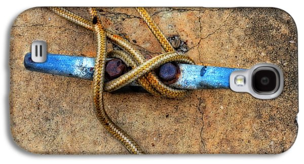 Waiting - Boat Tie Cleat By Sharon Cummings Galaxy S4 Case