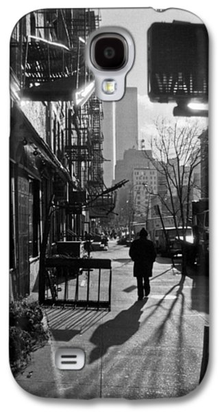 Walk Manhattan 1980s Galaxy S4 Case