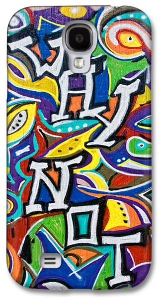 Wall-art 025 Galaxy S4 Case by Joachim G Pinkawa