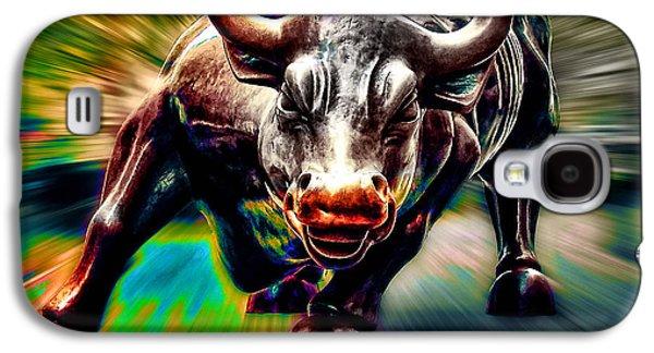 Wall Street Bull Galaxy S4 Case