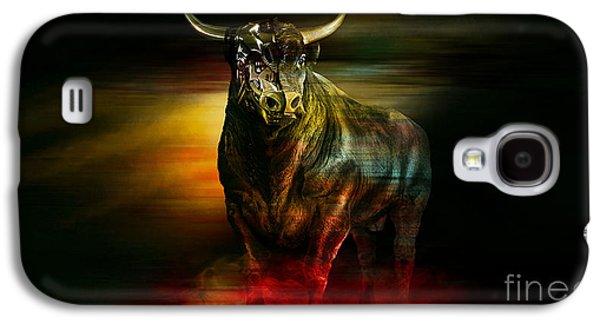 Wall Street Machine  Galaxy S4 Case by Marvin Blaine