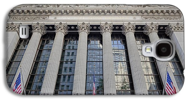 Wall Street New York Stock Exchange Nyse  Galaxy S4 Case by Susan Candelario