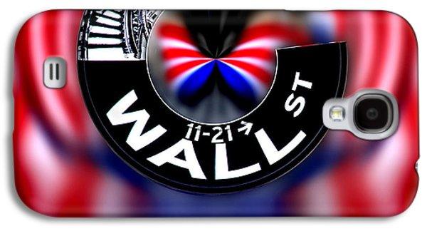 Wall Street Sign Circagraph Galaxy S4 Case by Az Jackson