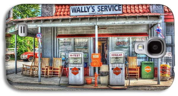 Wally's Service Station Galaxy S4 Case by Dan Stone