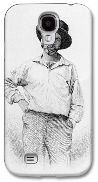 Walt Whitman Frontispiece To Leaves Of Grass Galaxy S4 Case by American School