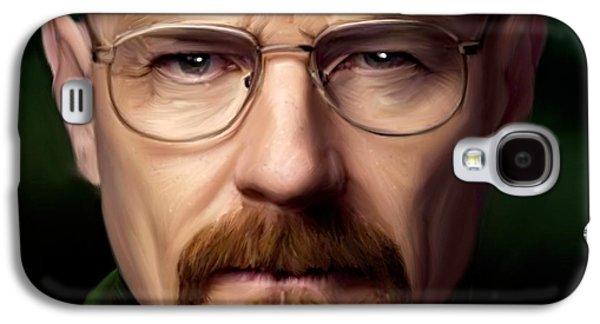 Walter White - Color Galaxy S4 Case
