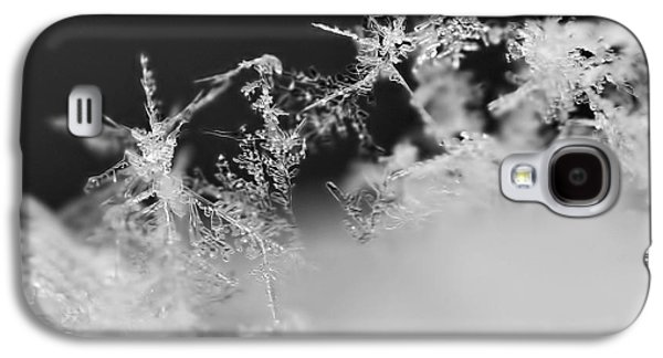 Waltz Of The Snowflakes Galaxy S4 Case by Rona Black