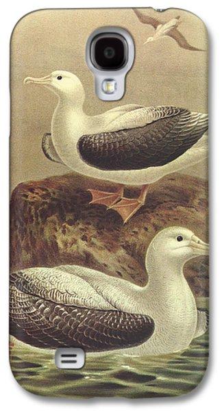 Wandering Albatross Galaxy S4 Case by Anton Oreshkin