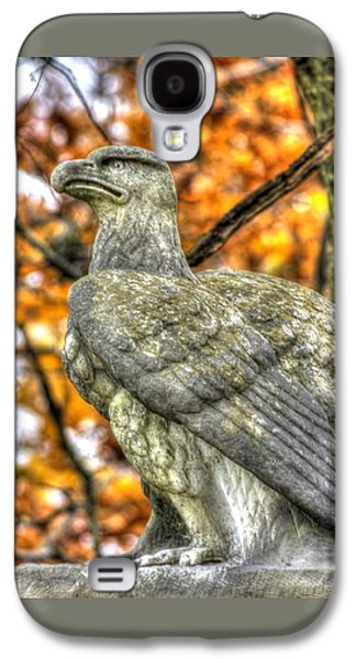 War Eagles - 28th Massachusetts Volunteer Infantry Rose Woods The Wheatfield Fall-a Gettysburg Galaxy S4 Case by Michael Mazaika