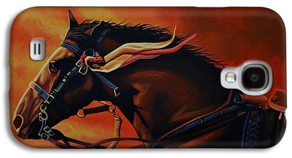 War Horse Joey  Galaxy S4 Case by Paul Meijering