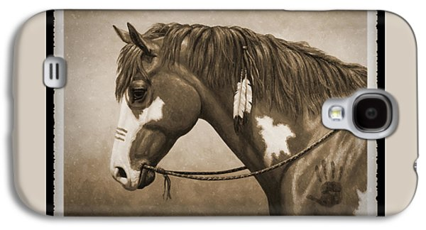 War Horse Old Photo Fx Galaxy S4 Case by Crista Forest