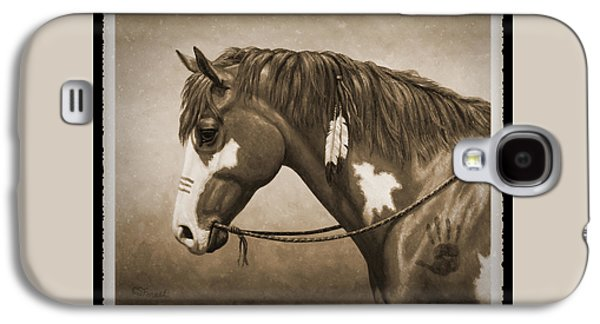 War Horse Old Photo Fx Galaxy S4 Case