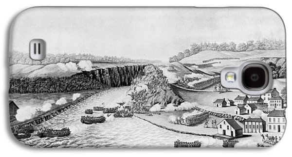 War Of 1812 Queenston Galaxy S4 Case by Granger