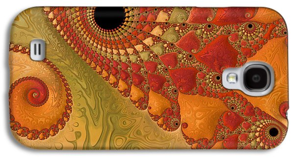 Warm And Earthy Galaxy S4 Case by Heidi Smith