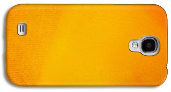 Orange Galaxy S4 Case - Warm Inside - Lamp With Warm Orange Light by Matthias Hauser