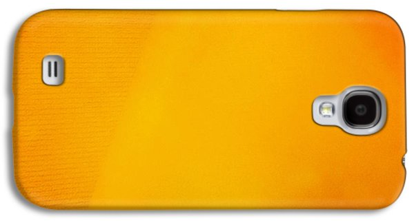 Light Galaxy S4 Case - Warm Inside - Lamp With Warm Orange Light by Matthias Hauser