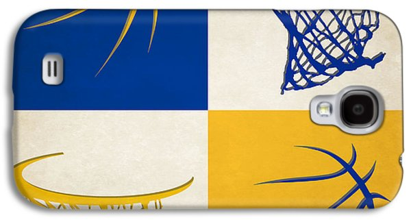 Warriors Ball And Hoop Galaxy S4 Case by Joe Hamilton