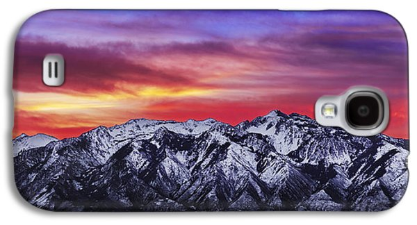 Wasatch Sunrise 2x1 Galaxy S4 Case by Chad Dutson