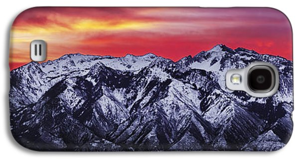 Wasatch Sunrise 3x1 Galaxy S4 Case by Chad Dutson