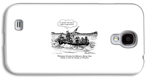 Washington Crossing The Delaware Galaxy S4 Case by J.B. Handelsman