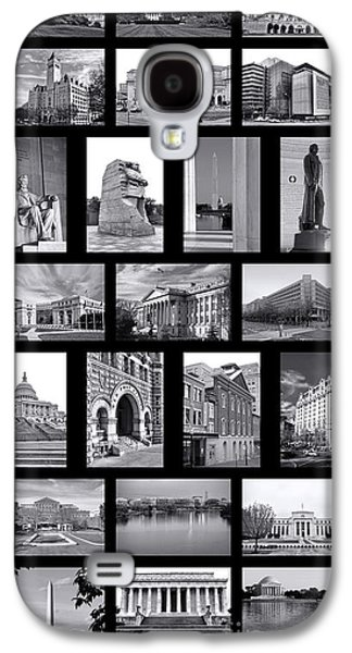 Washington Dc Poster Galaxy S4 Case by Olivier Le Queinec