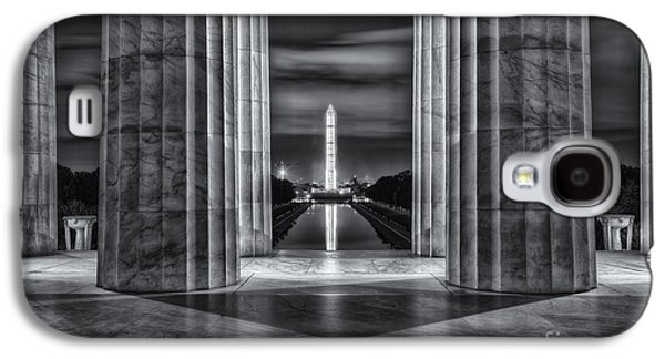 Washington Monument From Lincoln Memorial II Galaxy S4 Case